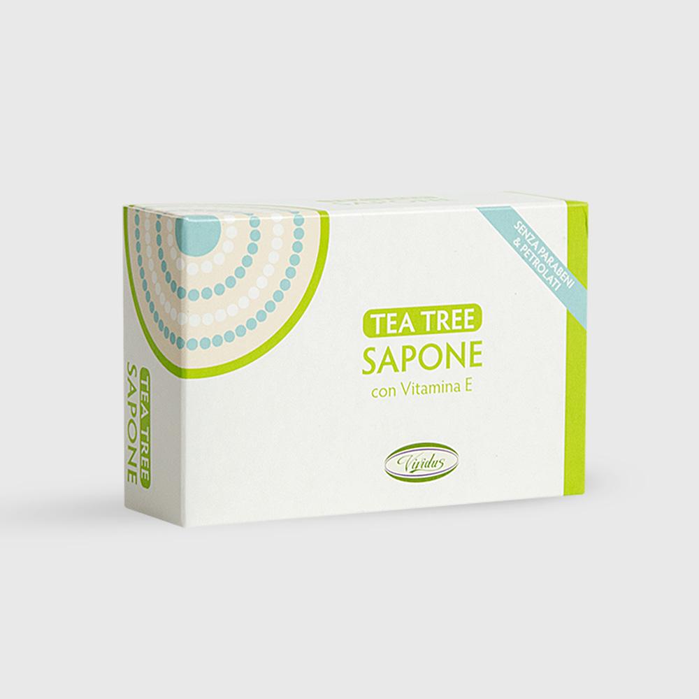 tea tree sapone confezione